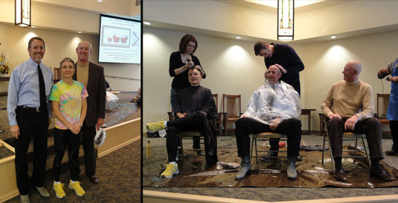 Hair Shaving for a good cause!