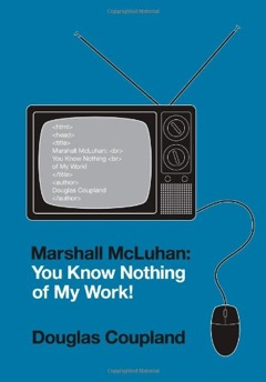 Book-cover: Marshal McLuhan